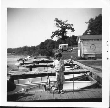 Dona with fish. Aged 5