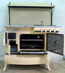 My grandmother's stove was similar to this