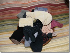 A pile of orphan socks