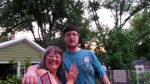 Jill and neighbor