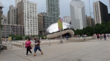 The Bean from a distance