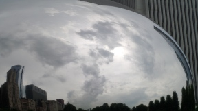Clouds in the Bean