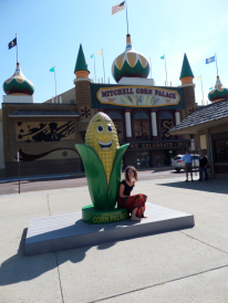 Clare and the ear of corn
