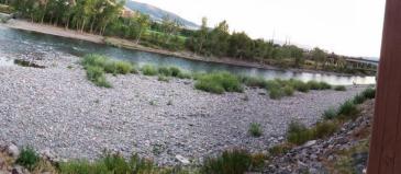 Clark Fork River from bridge