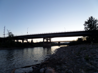 Bridge over Clark Fork River