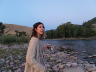 Clare at Clark Fork River