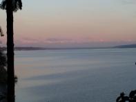 Olympia Mountains at sunrise
