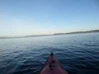 View from kayak