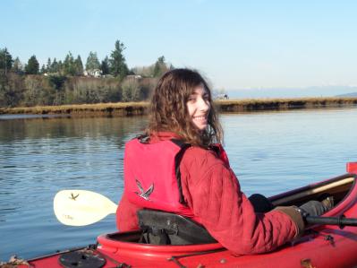 Clare kayaking