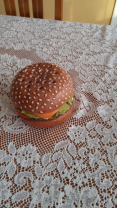 Hamburger pencil holder