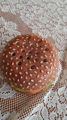 Hamburger pencil holder