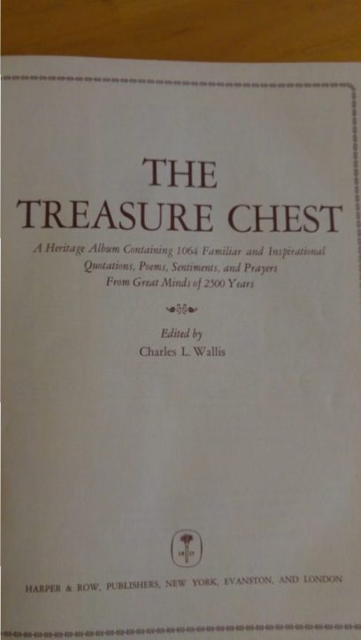 The Treasure Chest title page