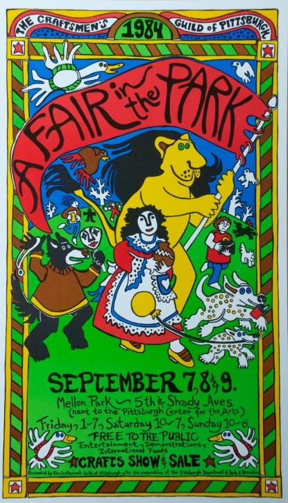 A Fair in the Park poster 1984