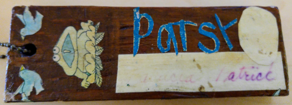 Back, including thumb print and signature