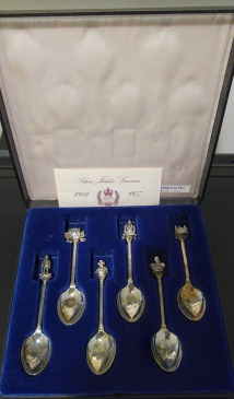 Silver Jubilee teaspoons